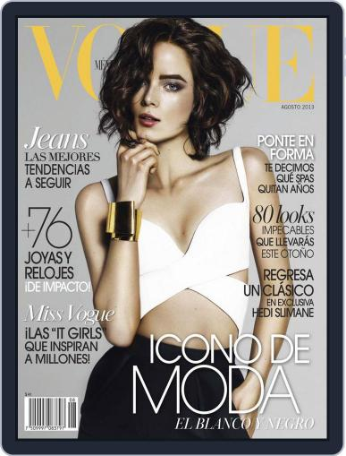 Vogue Mexico (Digital) August 2nd, 2013 Issue Cover
