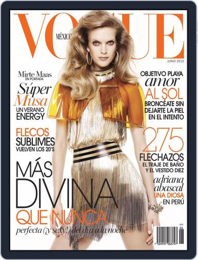 Vogue Mexico (Digital) June 1st, 2013 Issue Cover