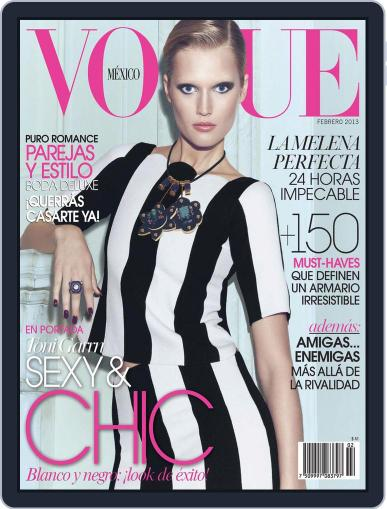 Vogue Mexico (Digital) February 1st, 2013 Issue Cover