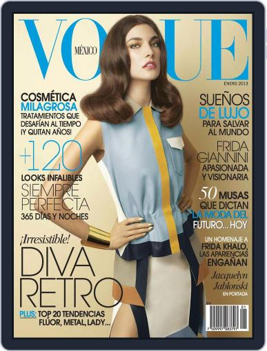 Vogue Mexico (Digital) January 2nd, 2013 Issue Cover