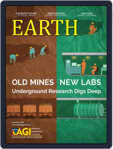 Earth (Digital) November 1st, 2018 Issue Cover