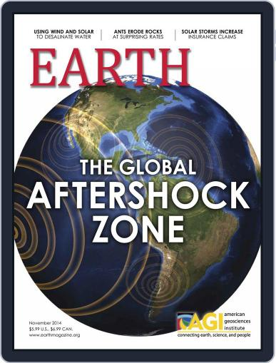 Earth (Digital) October 30th, 2014 Issue Cover