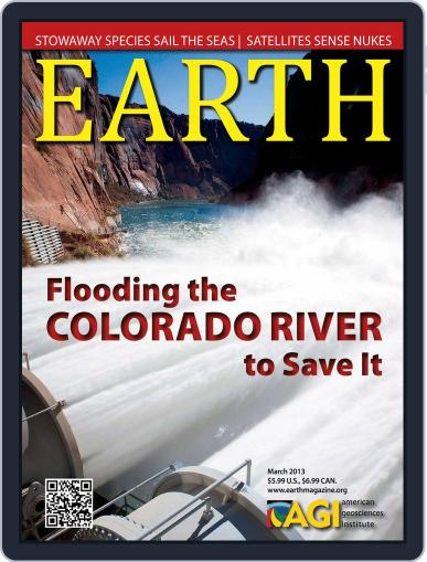 Earth (Digital) February 22nd, 2013 Issue Cover