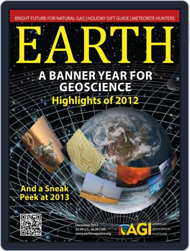 Earth (Digital) November 19th, 2012 Issue Cover