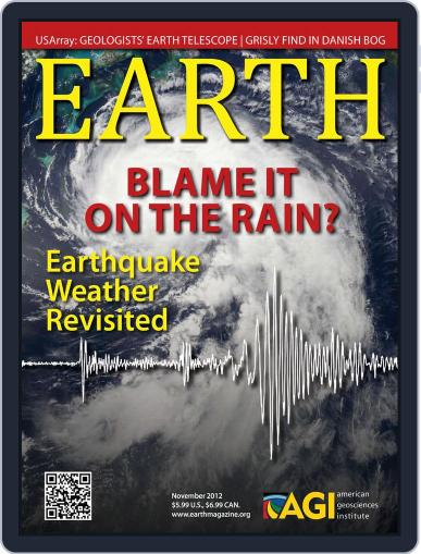Earth (Digital) October 23rd, 2012 Issue Cover