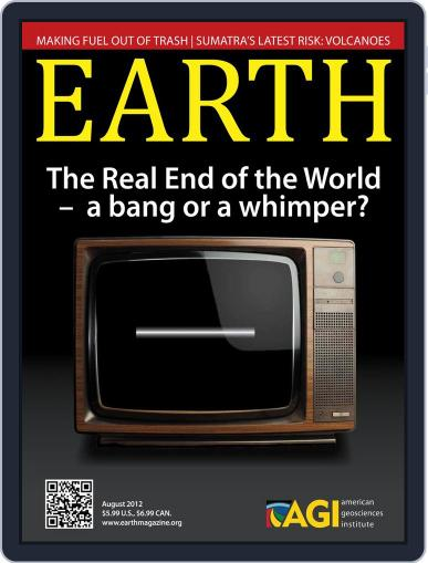 Earth (Digital) July 24th, 2012 Issue Cover