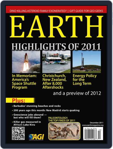 Earth (Digital) November 15th, 2011 Issue Cover