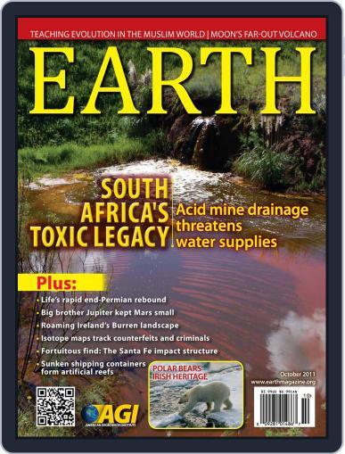 Earth (Digital) September 8th, 2011 Issue Cover