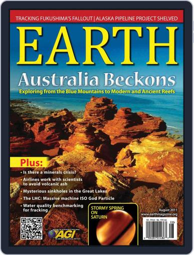 Earth (Digital) July 11th, 2011 Issue Cover