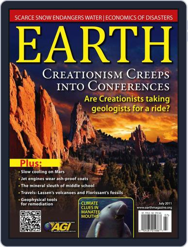 Earth (Digital) June 6th, 2011 Issue Cover