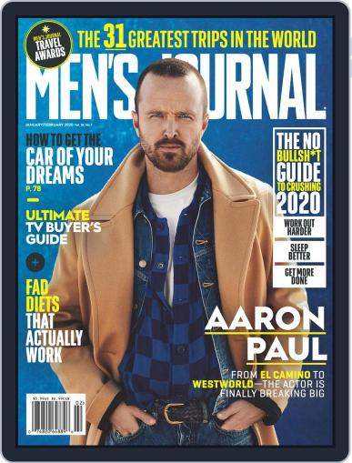 Men's Journal (Digital) January 1st, 2020 Issue Cover