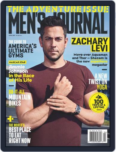 Men's Journal (Digital) April 1st, 2019 Issue Cover