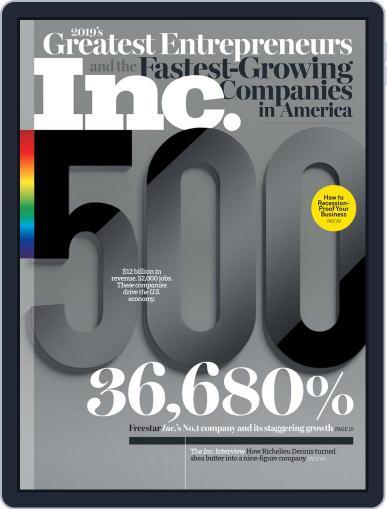 Inc. (Digital) September 1st, 2019 Issue Cover