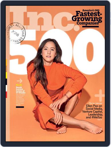 Inc. (Digital) September 1st, 2018 Issue Cover
