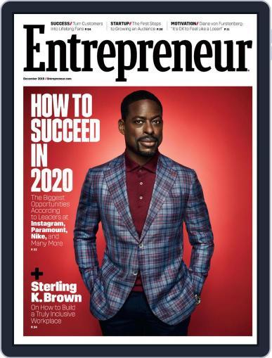 Entrepreneur (Digital) December 1st, 2019 Issue Cover