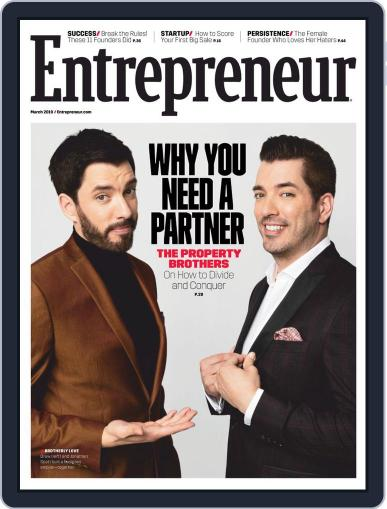 Entrepreneur (Digital) March 1st, 2019 Issue Cover