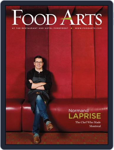 Food Arts July 24th, 2013 Digital Back Issue Cover