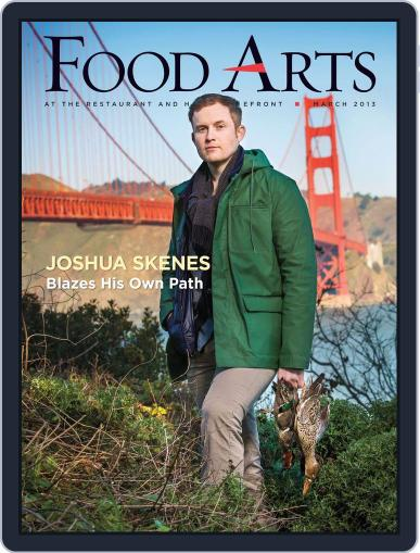 Food Arts March 8th, 2013 Digital Back Issue Cover