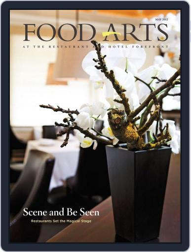 Food Arts February 21st, 2013 Digital Back Issue Cover