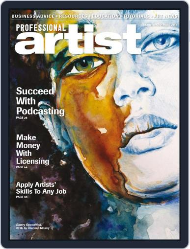 Professional Artist (Digital) October 1st, 2018 Issue Cover