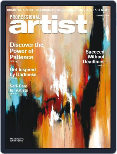 Professional Artist (Digital) June 1st, 2018 Issue Cover