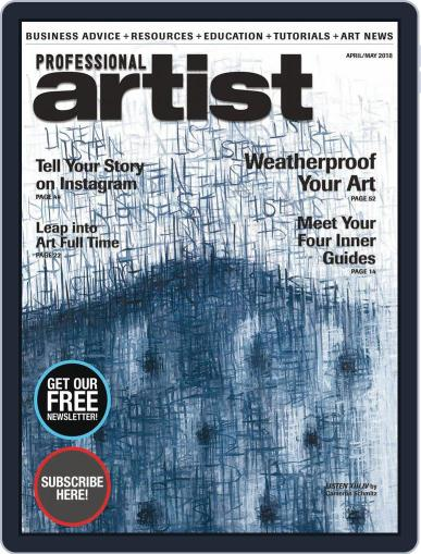 Professional Artist (Digital) April 1st, 2018 Issue Cover