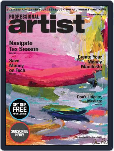 Professional Artist (Digital) February 1st, 2018 Issue Cover