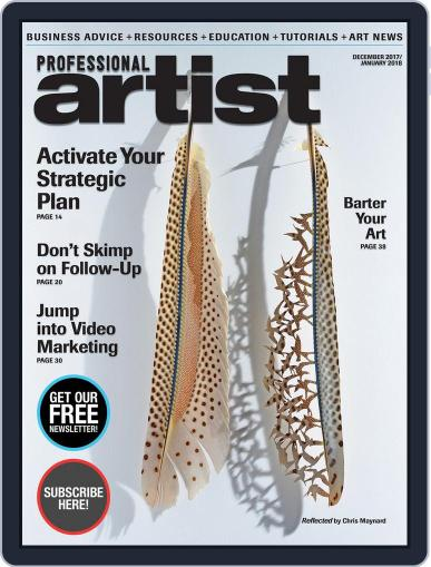 Professional Artist (Digital) December 1st, 2017 Issue Cover