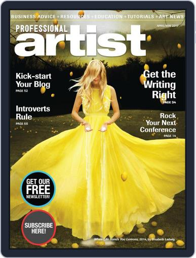 Professional Artist (Digital) February 17th, 2017 Issue Cover