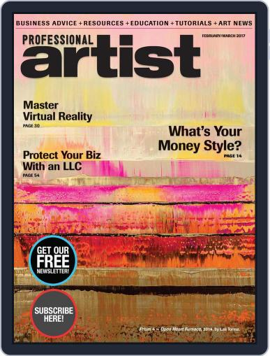 Professional Artist (Digital) December 9th, 2016 Issue Cover