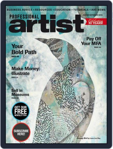 Professional Artist (Digital) July 1st, 2016 Issue Cover