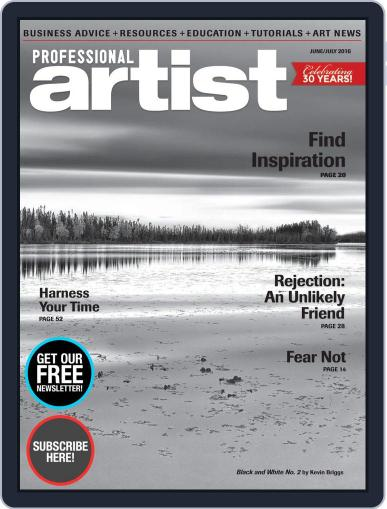 Professional Artist (Digital) May 2nd, 2016 Issue Cover