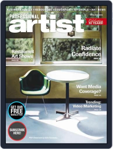 Professional Artist (Digital) February 29th, 2016 Issue Cover
