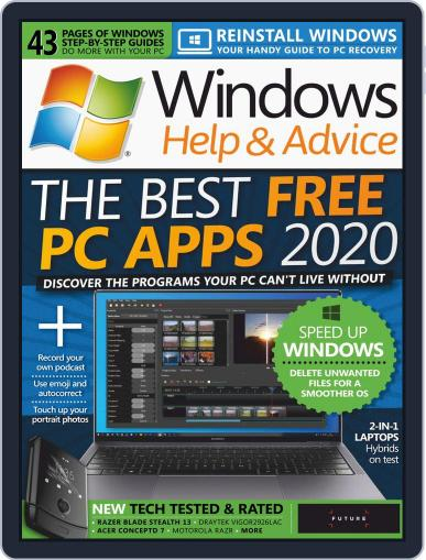 Windows Help & Advice April 1st, 2020 Digital Back Issue Cover