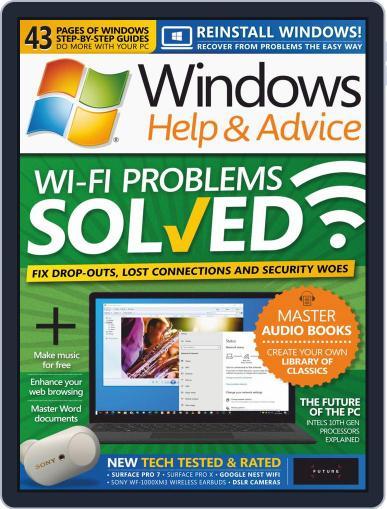 Windows Help & Advice January 1st, 2020 Digital Back Issue Cover