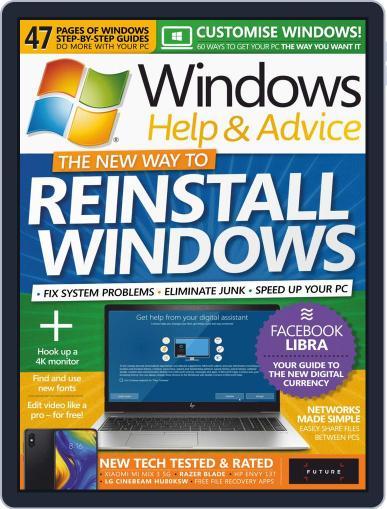 Windows Help & Advice November 1st, 2019 Digital Back Issue Cover