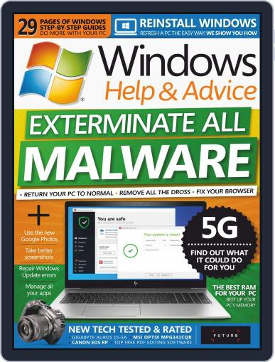 Windows Help & Advice October 1st, 2019 Digital Back Issue Cover