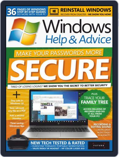 Windows Help & Advice September 1st, 2019 Digital Back Issue Cover