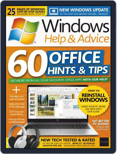 Windows Help & Advice July 1st, 2019 Digital Back Issue Cover
