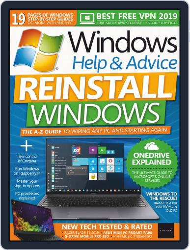 Windows Help & Advice June 1st, 2019 Digital Back Issue Cover