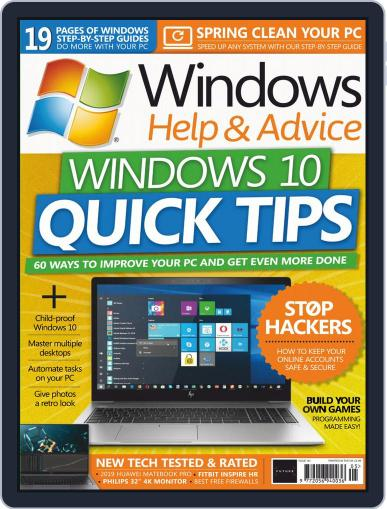 Windows Help & Advice May 1st, 2019 Digital Back Issue Cover