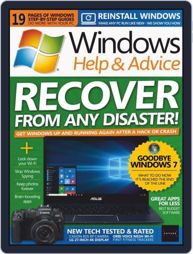 Windows Help & Advice April 1st, 2019 Digital Back Issue Cover