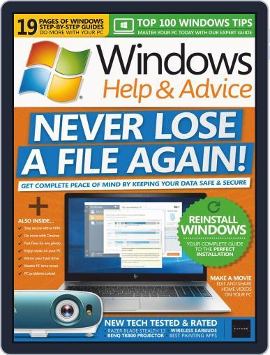 Windows Help & Advice February 1st, 2019 Digital Back Issue Cover