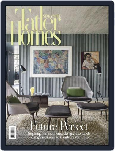 Tatler Homes Singapore June 1st, 2020 Digital Back Issue Cover