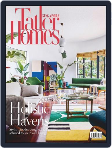Tatler Homes Singapore April 1st, 2020 Digital Back Issue Cover