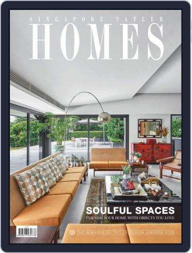 Tatler Homes Singapore February 1st, 2020 Digital Back Issue Cover