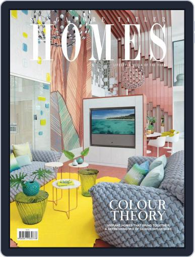 Tatler Homes Singapore December 1st, 2019 Digital Back Issue Cover
