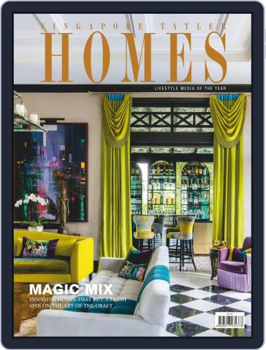 Tatler Homes Singapore (Digital) October 1st, 2019 Issue Cover