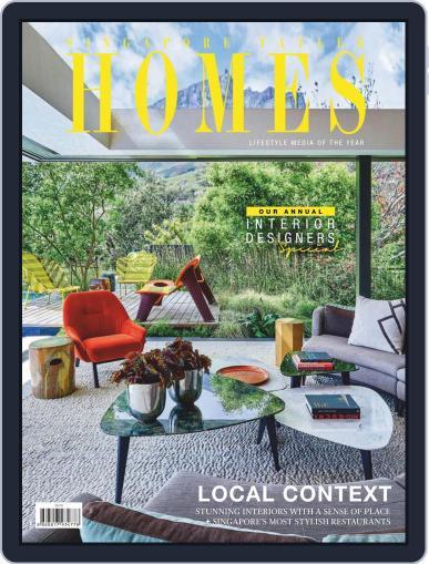 Tatler Homes Singapore August 1st, 2019 Digital Back Issue Cover