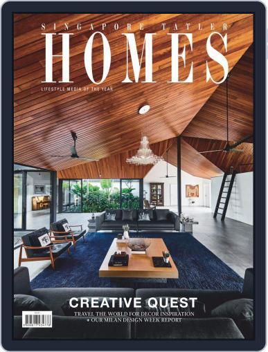 Tatler Homes Singapore (Digital) June 1st, 2019 Issue Cover